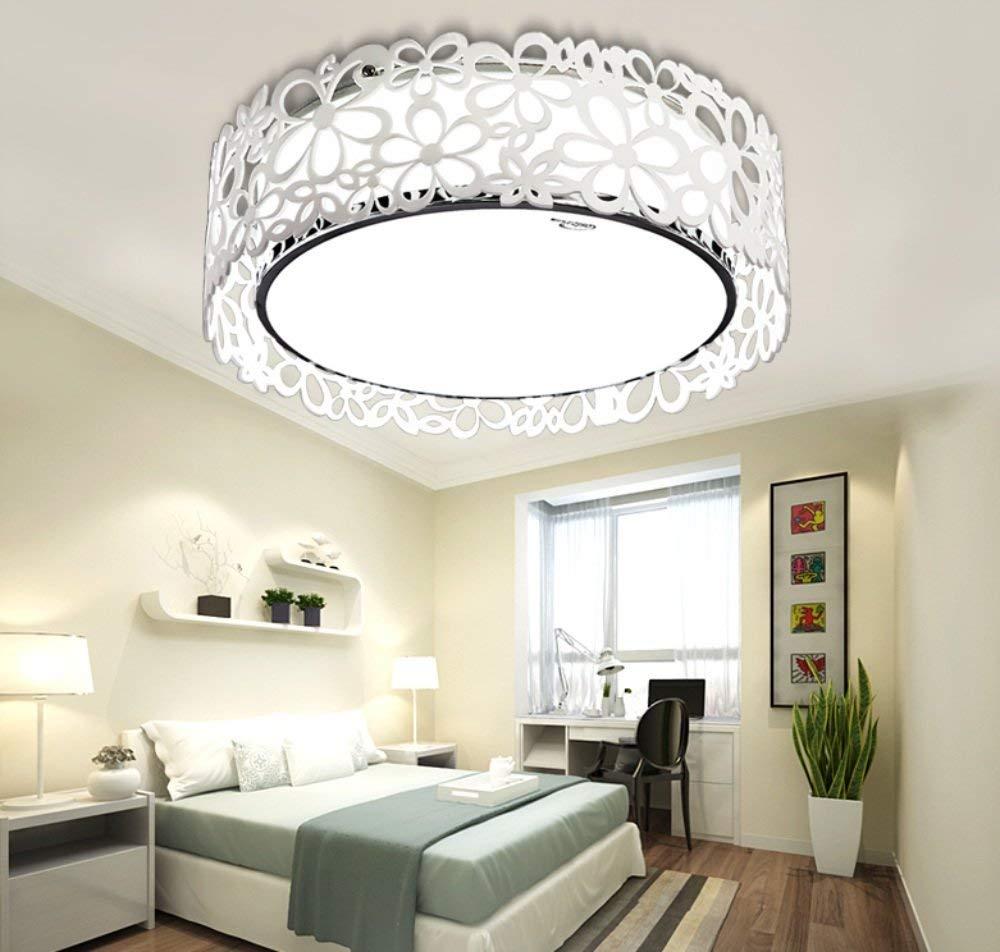 Acryl LED-Rundschreiben modernen minimalistischen Wohnzimmer Schlafzimmer Garten Zimmer warme und romantische Atmosphäre Decke (nicht die Lichtquelle) (Größe  37 cm)