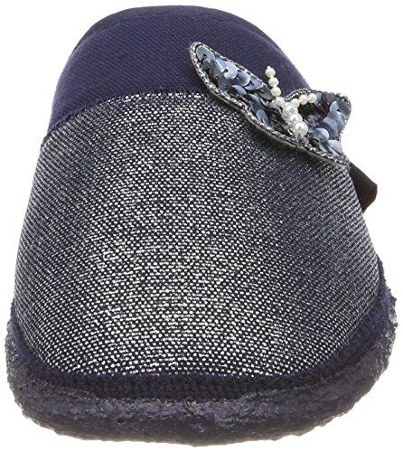 Parndorf Women's blue Open Dk Slippers Blue Back Giesswein CRaxwnR