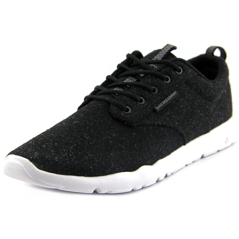 DVS Elm Men Round Toe Canvas Black Sneakers
