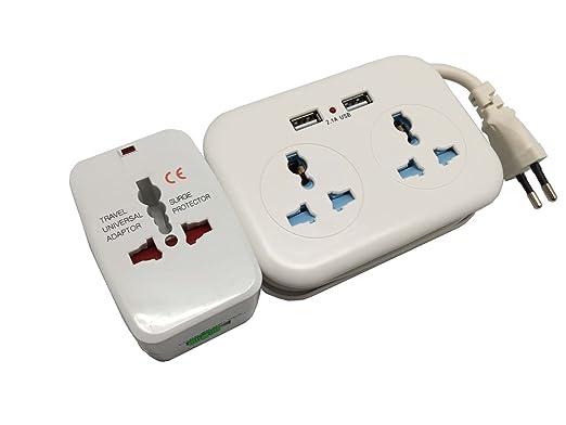 tredan USB Traveller Plug Viaje Conector Cable alargador ...