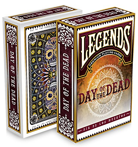 Day Playing Cards (Day of the Dead Deck Playing Cards by Legends)
