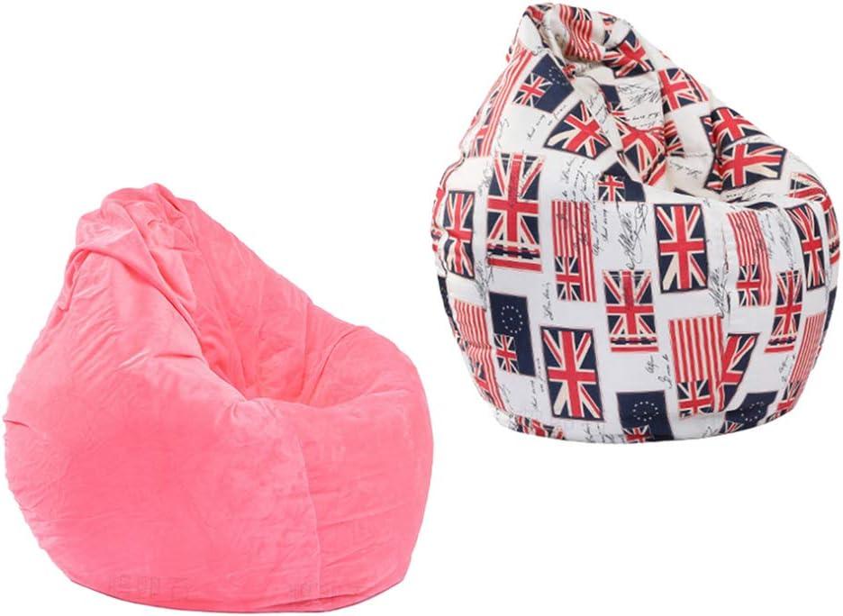 Art Print homozy Modern Printed Stuffed Storage Birds Nest Bean Bag Chair for Kids and Adults Beanbag Cover Stuffed Animal