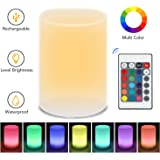 Tobeape Night Light, 16 Colors Baby BedsideLamp with Remote, Brightness Adjustment Night Lamp(Nursery Breastfeed Light…
