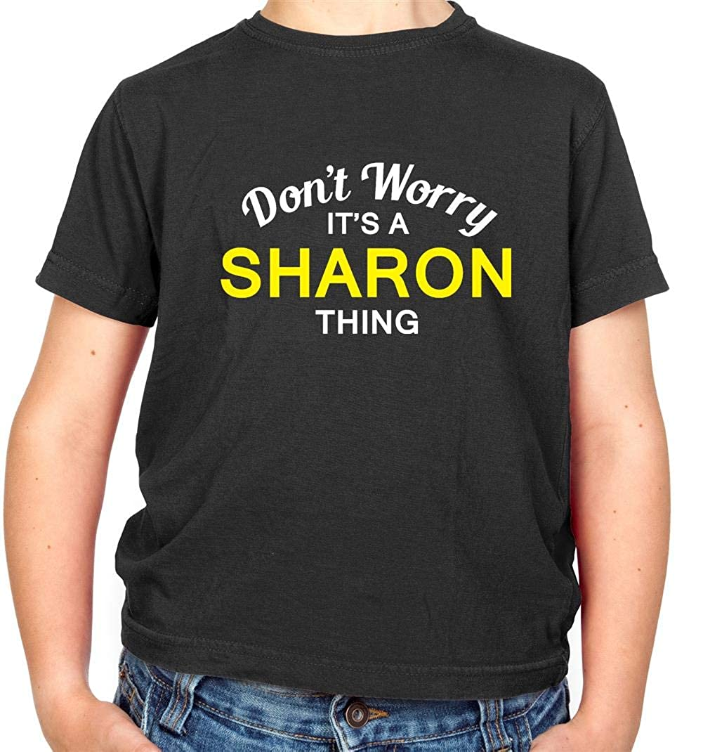 7 Colours Don/'t Worry It/'s an ALASTAIR Thing! Kids Childrens T-Shirt