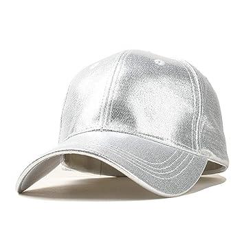 CONGCASE Sombreros de Moda Casual, Hombres, Mujeres, Gorra Coreana de Seda de Alto