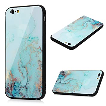 coque iphone 6 jaune marbre