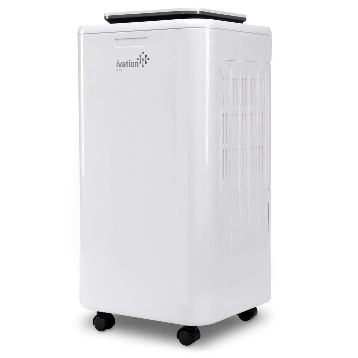 Ivation 11-Pint Small-Area Compressor Dehumidifier - With Continuous Drain Hose, Air Purifier & Ionizer for Smaller Spaces, Bathroom, Attic, Crawlspace and Closets - For Spaces Up To 216 Sq/Ft