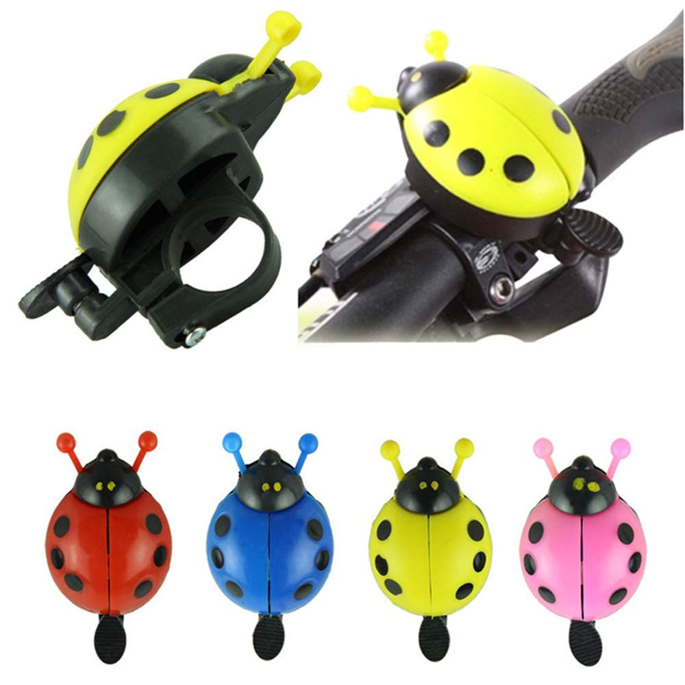 ToomLight Deportes al Aire Libre y Bicicletas Bicicleta Bicicleta Campana Bell Air Sound Ladybug Ciclismo Campana Bicicleta Exterior Anillo Camping Accesorios