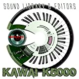 KAWAI K-5000 - Large Original and New created Sound Library & Editors on CD or download