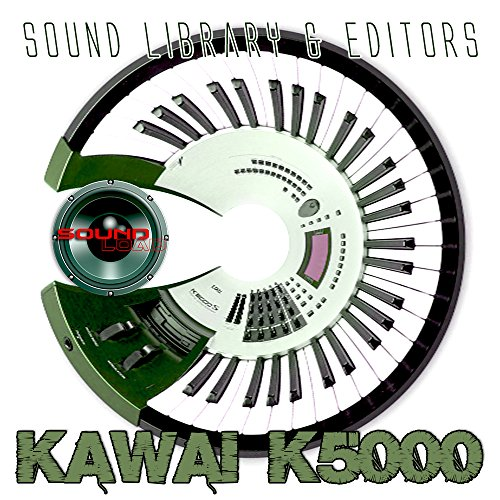 KAWAI K-5000 - Large Original and New created Sound Library & Editors on CD or download by SoundLoad