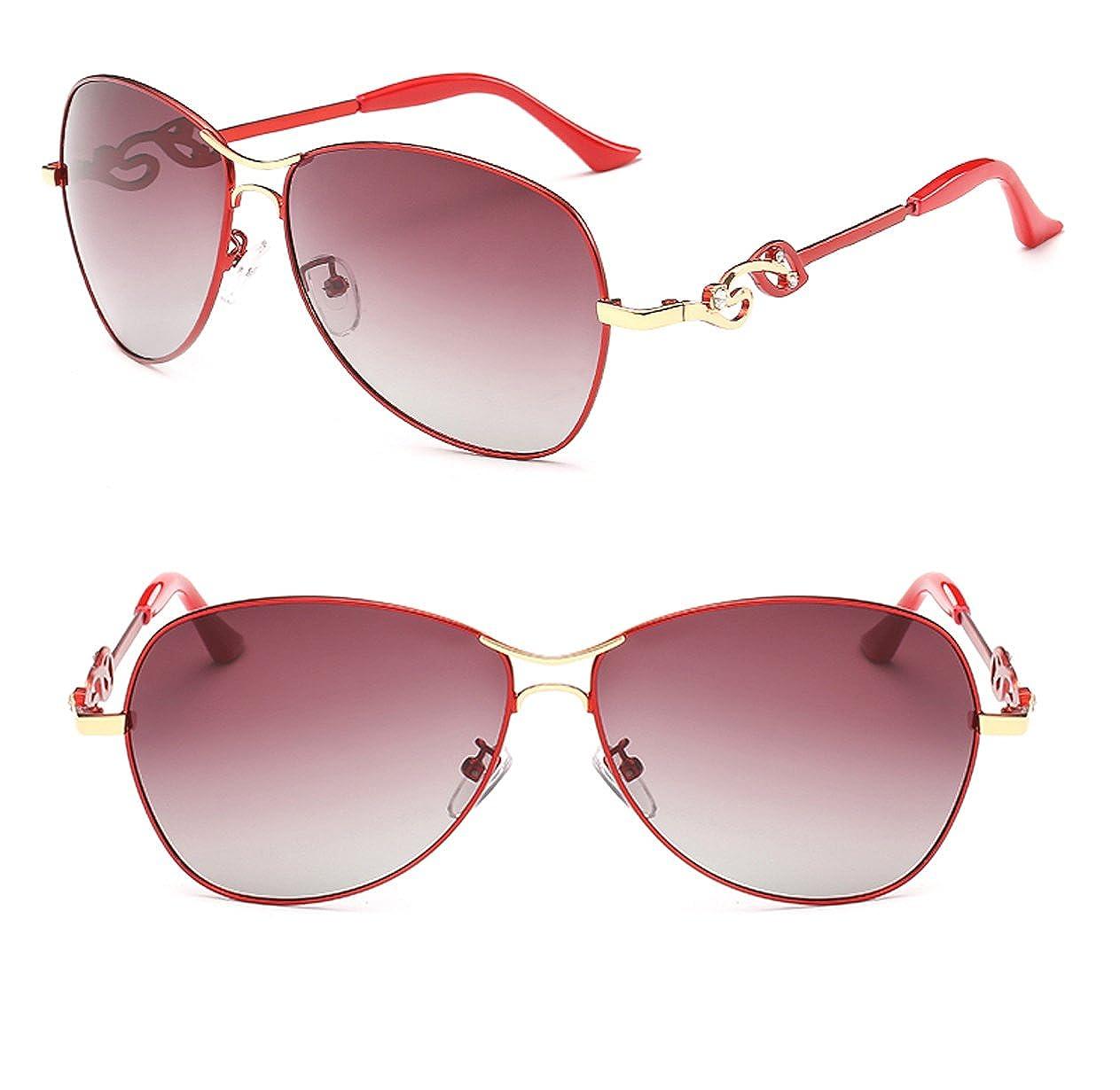 090f487b2cd7 Amazon.com  Polarized UV Protection Fashionable Tide Sunglasses TAC Lenses  for Women (bronze