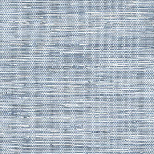 Blue Faux Grasscloth Wallcovering PA34213 -