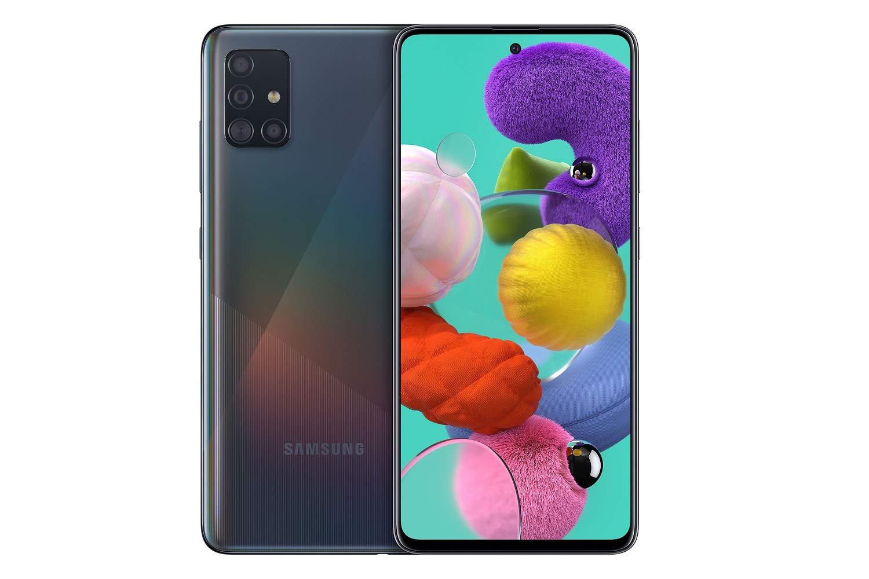 SAMSUNG Galaxy A51 Prism Crush Black bei MediaMarkt