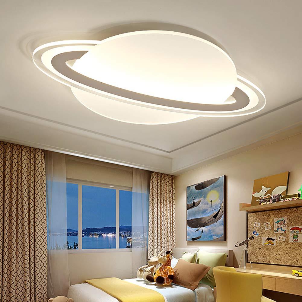 LIGHT BYJUM Kinderlampe Moderne Einfachheit Einfachheit Einfachheit Cartoon-Planet LED Deckenleuchte Warmweißes Licht,45  30cm b79f99