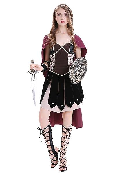 Disfraz de Guerrera de Romana para Mujer Disfraz de Pirata ...