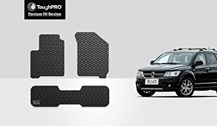 Image Unavailable. Image not available for. Color: ToughPRO Dodge Journey Floor Mats ...