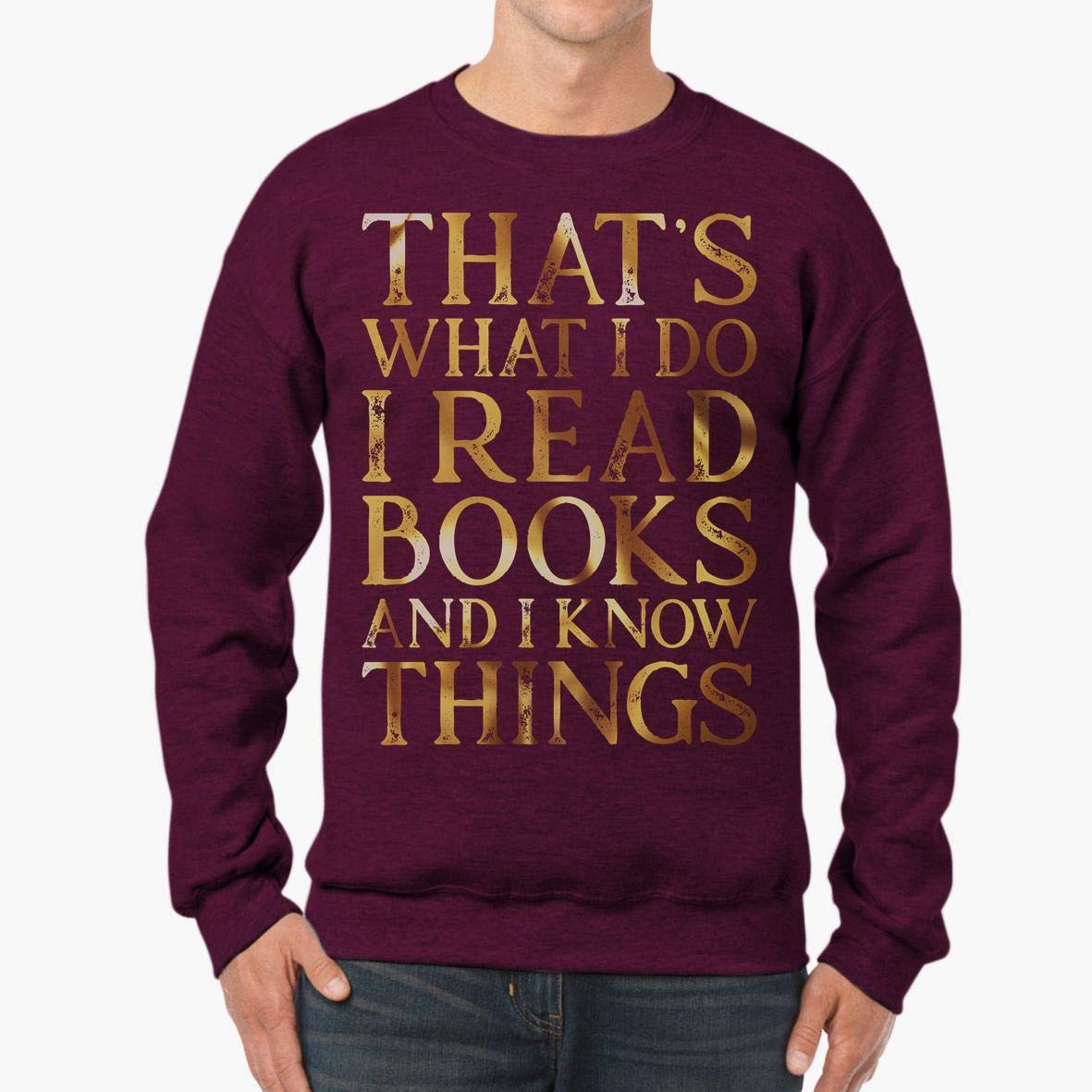 tee Doryti Tell That to My Books Book Lover Unisex Sweatshirt