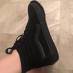 23ae3ca5ca Amazon.com  Customer reviews  Vans Unisex Sk8-Hi MTE (MTE) Black Tweed Skate  Shoe 13 Men US