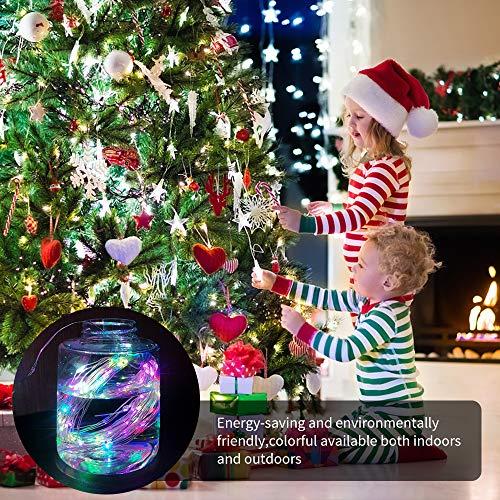 Cadena de Luces, Guirnalda de Luces con 16 Modos, Guirnalda Luces LED USB, 10m 100 LEDs Guirnalda de Luces con Control Remoto y USB, para Carnaval,Casa,Navidad,Boda,Halloween,Bares, Restaurantes