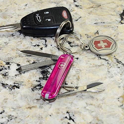 046928540051 - Victorinox KNIFE, CLASSIC SD, TRANS PINK carousel main 2