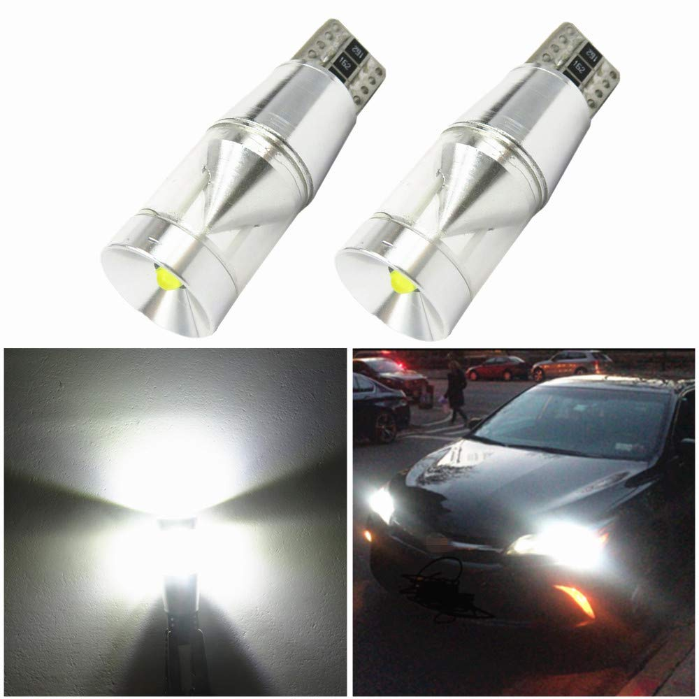WLJH 2X CANBUS Error Free T10 194 LED Light Cree Chip LED Parking Lights Sidelight for Mercedes Benz W202 W220 W204 W203 W210 W124 W211 W222 X204 W164