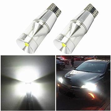 WLJH 2X CANBUS Error Free T10 194 LED Light Cree Chip LED Parking