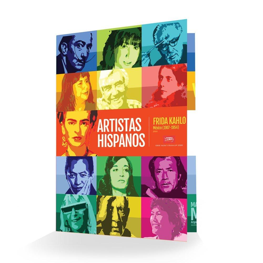 Artistas hispanos Folder - Set of 90