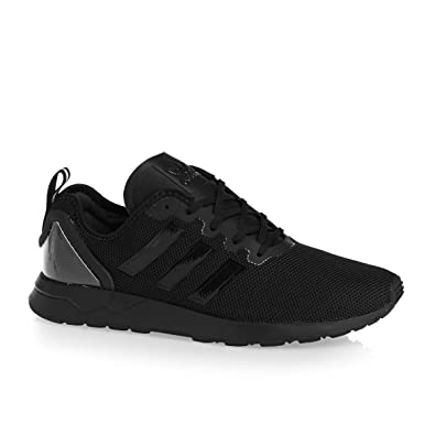 detailed look 33728 c22d0 adidas ZX Flux ADV Black Black White 40