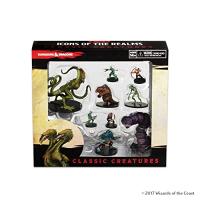 WizKids D&D Icons of The Realms: Classic Creatures Box Set: Toys & Games