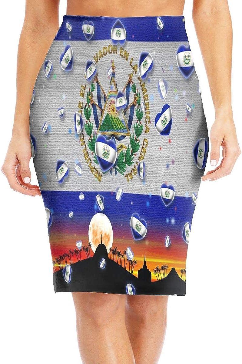Amazon.com: Flying Xie El Salvador - Bandera para mujer <br ...