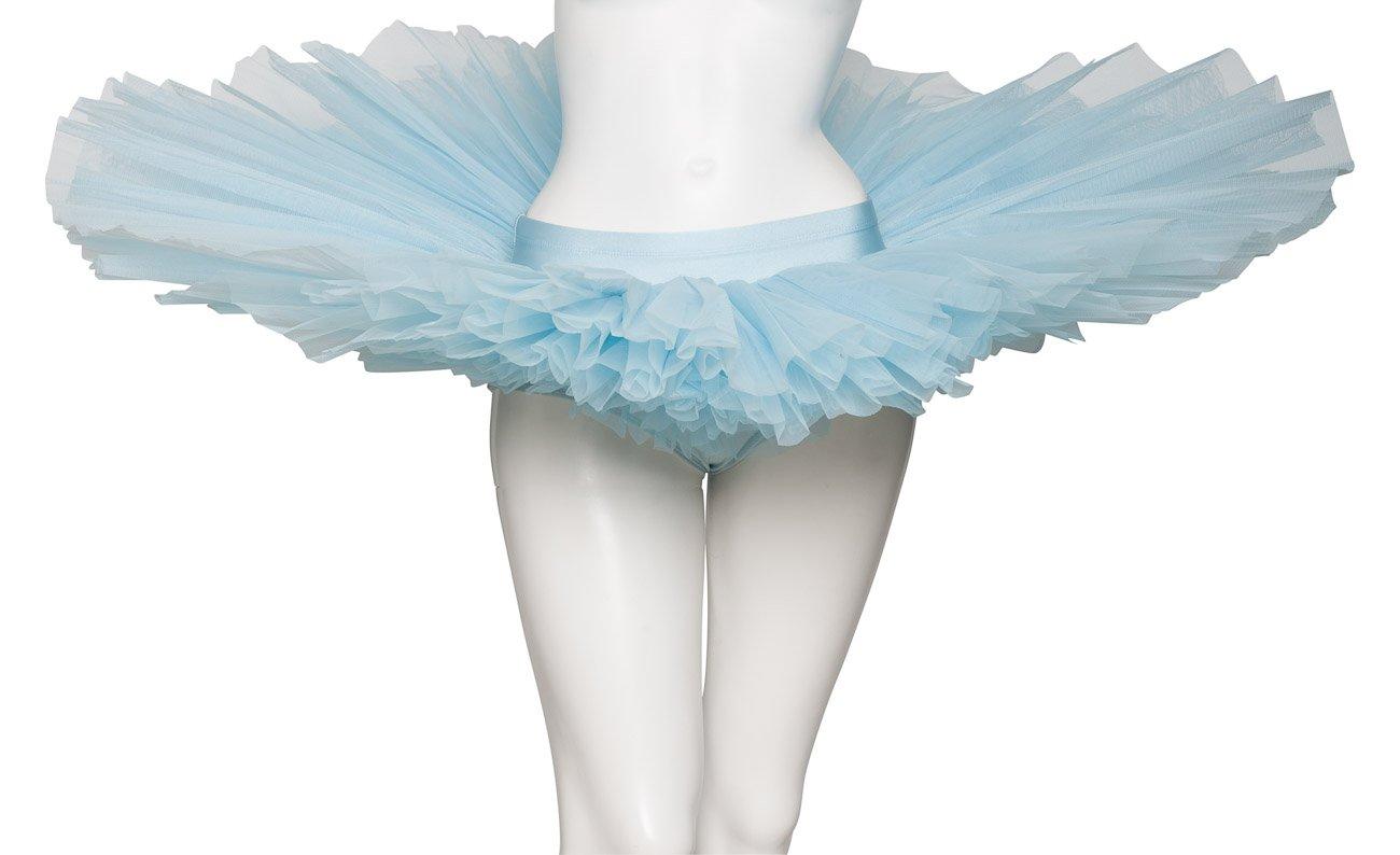 All Colours Girls Ladies Premium Dance Ballet Practise Pancake Plateau 7 Stiff Net Layer Tutu Skirt By Katz Dancewear