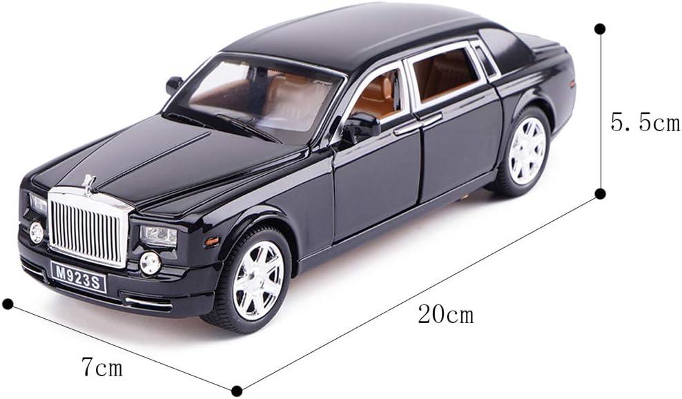 Mod/èle de voiture Mod/èle de voiture Rolls-Royce 1:24 /Échelle de Mod/èle en Alliage Mod/èle /à l/échelle Mod/èle de Fonderie sous pression Mod/èle de Collection D/écoratif Cadeau De No/ël P