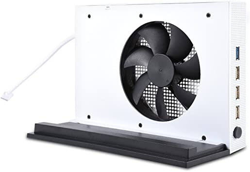 VIFLYKOO Xbox One S Soporte de Ventilador Vertical, Súper ...
