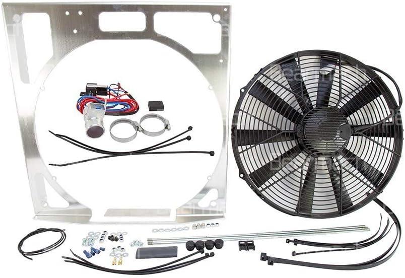 REVOTEC BA3935 kit de ventilador eléctrico de 15 pulgadas: Amazon.es: Coche y moto