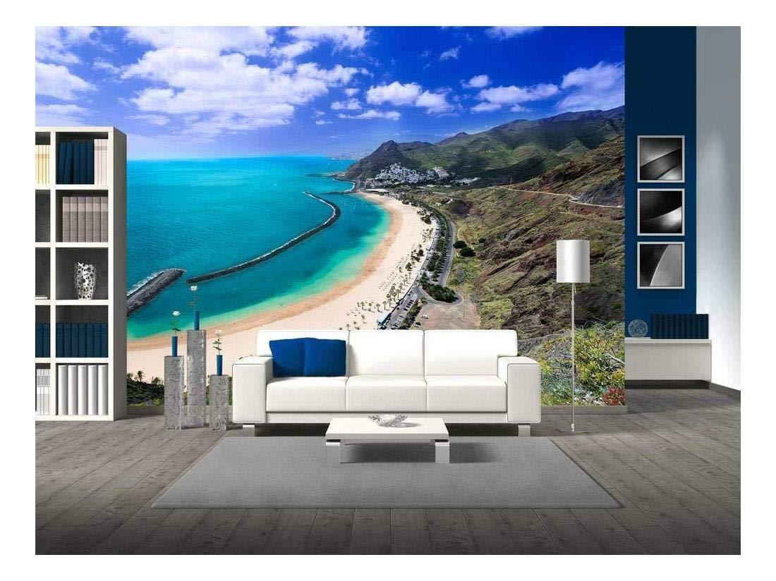 wall26 - Famous Beach Near Santa Cruz De Tenerife in The ...