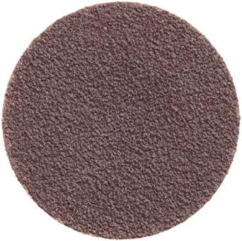 2 Diameter Norton R884P BlueFire Speed-Lok Abrasive Disc Pack of 25 Zirconia Alumina Cloth Backing TR Grit 36