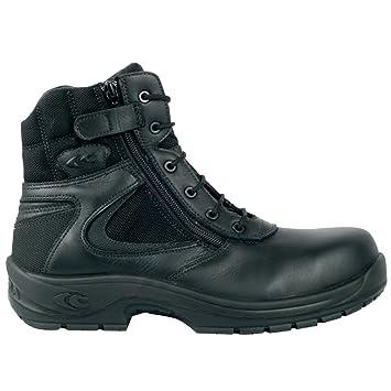 Cofra – Botas de seguridad Police S3 HRO SRC superior Top 10260 – 000 Negro,