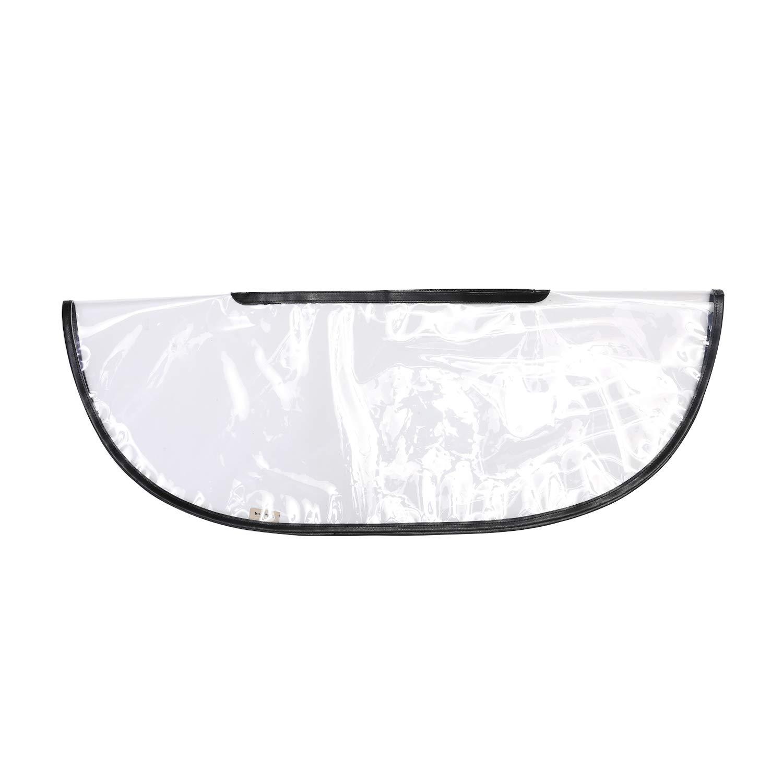 handbag raincoat (Large, Transparent)