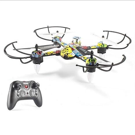YXIAOL Dron Aéreo De Juguete, Avión De Cuatro Ejes, Helicóptero De ...