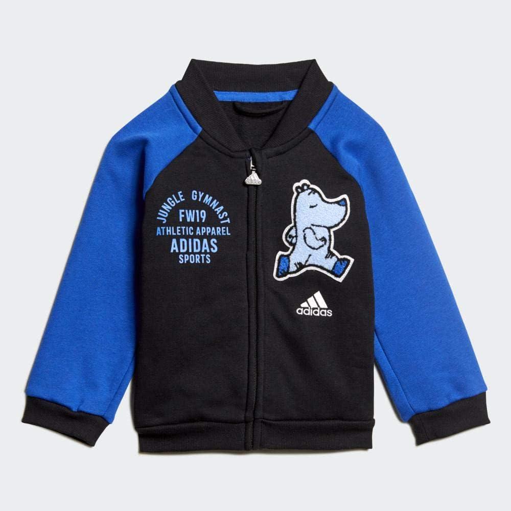 adidas I Bball Jog FL Chándal, Unisex niños: Amazon.es: Deportes y ...