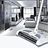 Kangkang@ Office Household Handheld 360 Degree Rotatable Electric Wireless Floor Sweeper Vacuum Cleaner Broom Mop Dust Cleaner EU Plug