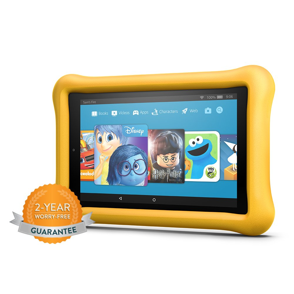 Fire HD 8 Kids Edition Tablet, 8'' HD Display, 32 GB, Yellow Kid-Proof Case by Amazon (Image #8)