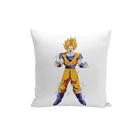 Fabulous Funda de Cojín Dragon Ball Super Son Goku se enfada ...