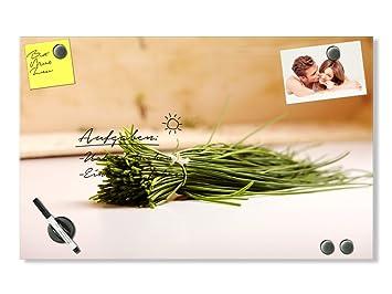 Graz Design® Glas Magnettafel Wandtafel Magnettafel Tafel für Küche ...