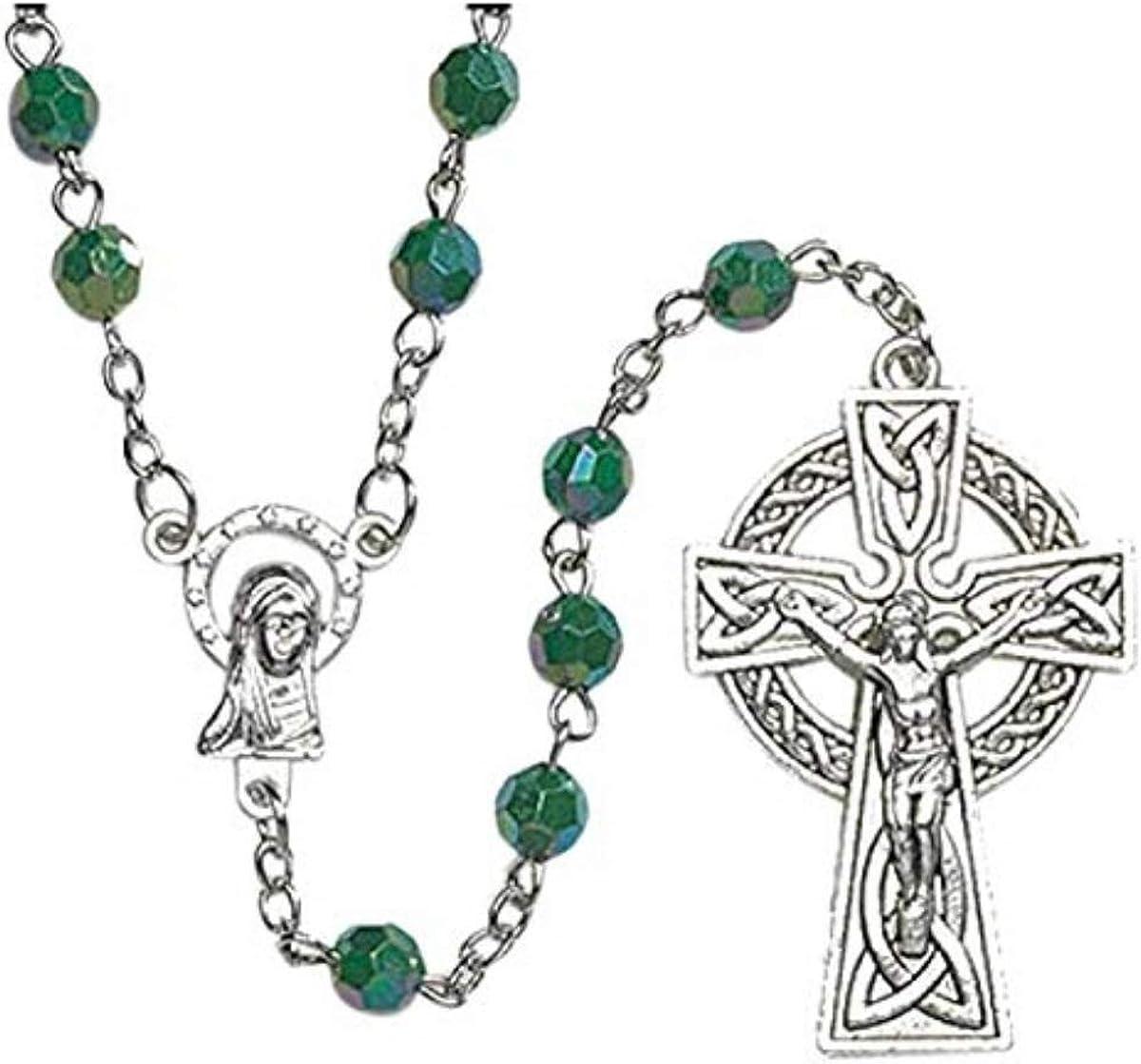 Amazon.com: JMJ Products, LLC Irish Celtic Rosary RS510: Jewelry