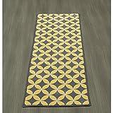 Ottomanson Studio Collection Star Trellis Design Runner Rug, 20″ X 59″, Grey Review