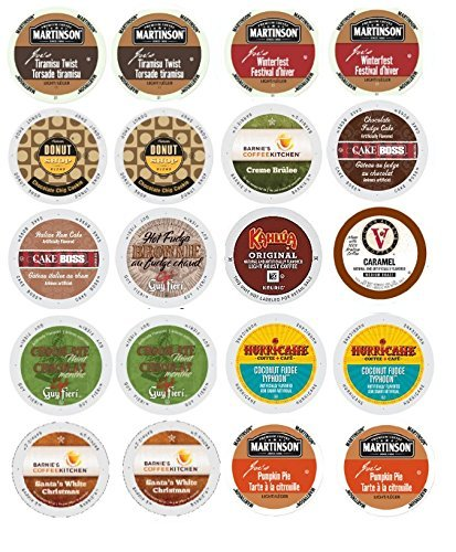 dc2bd429823 K-Cup Coffee for Keurig Brewers, Flavored Coffee Variety Pack, 60-Count,  Bundled with 2 Organic Green...