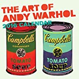 Art of Andy Warhol 2016 Wall Calendar