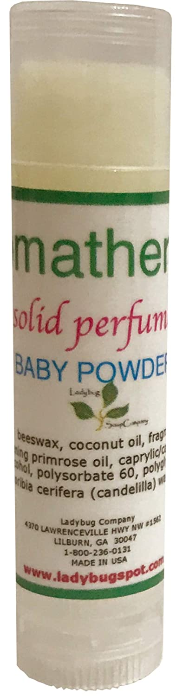 Long Lasting Natural Solid Perfume (Baby Powder Scent)