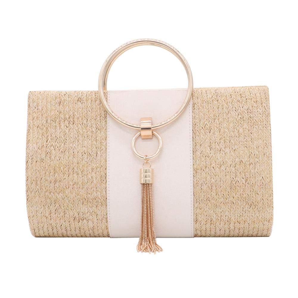 Straw Evening Bag Bridal...